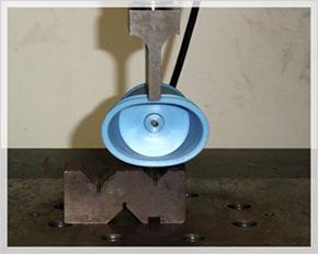 破断試験=(A)新素材スプール=0.52219kN=約57kg加圧