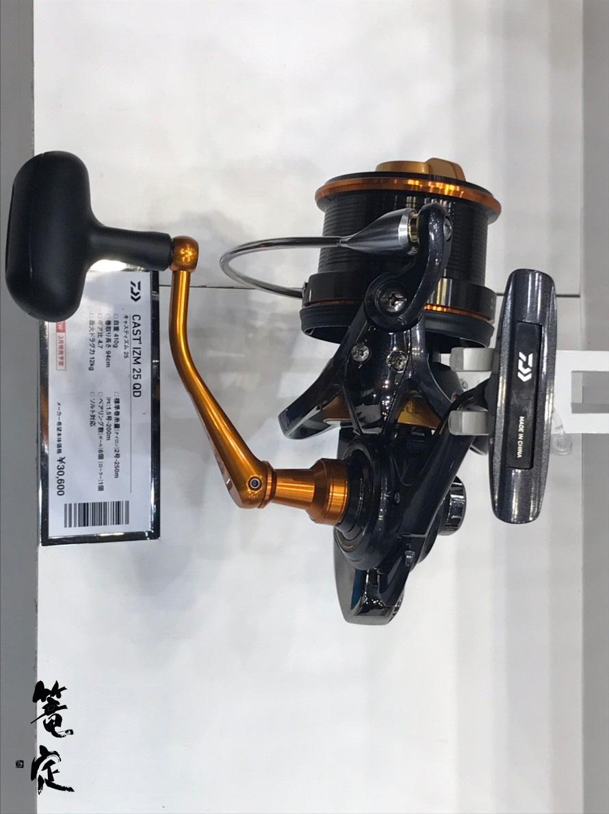 新製品の2019年キャスティズム 25 QD。