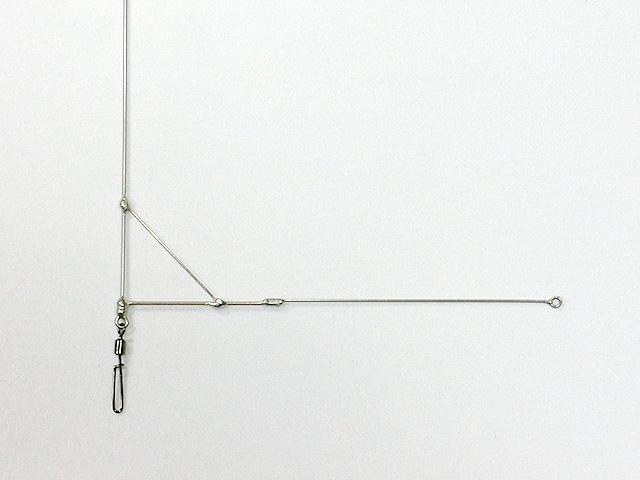 必殺キスL型天秤タイプ02(アーム部線径1.0mm+0.8mm)の拡大画像