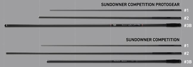2016サンダウナーコンペティション プロトギアとサンダウナーコンペティションの比較